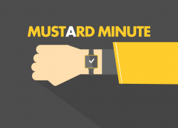 Mustard Minute: Friday 1st June