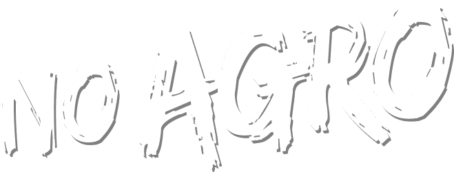No Agro Stylized Text